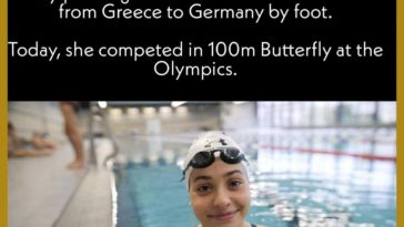 A Wholesome Olympian.