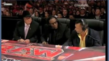 10 years ago today, WWE CEO Vince McMahon allegedly fed an unscripted prank line to announcer Michael Cole, resulting in the deaths of three men live on air.
